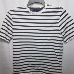 White Striped Shirt Banana Republic